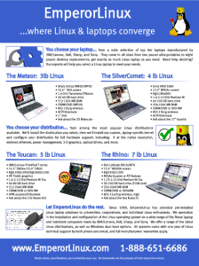 [EmperorLinux Ads: Linux Journal Full Page Ad]